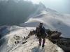 Abstieg vom Aiguille du Midi