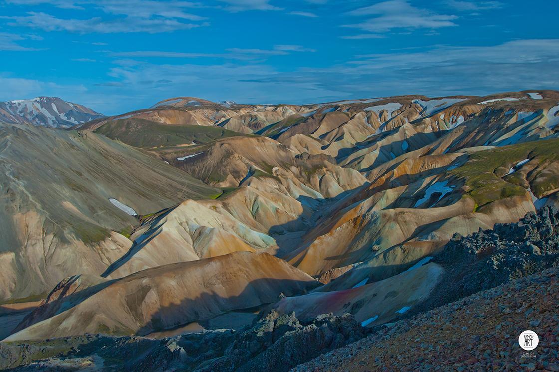 Acryl_Island-Landmannalaugar_105x70cm